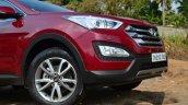 2013 Hyundai Santa Fe Review bumper front