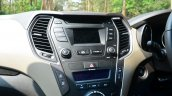 2013 Hyundai Santa Fe Review central screen