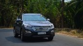 2013 Hyundai Santa Fe Review driving
