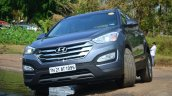 2013 Hyundai Santa Fe Review front end