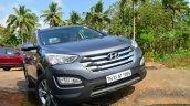 2013 Hyundai Santa Fe Review front fascia