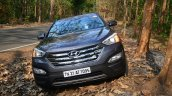 2013 Hyundai Santa Fe Review front