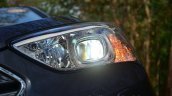 2013 Hyundai Santa Fe Review headlight