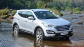 2013 Hyundai Santa Fe Review in the water