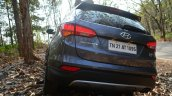 2013 Hyundai Santa Fe Review rear end