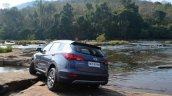 2013 Hyundai Santa Fe Review rear profile