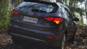 2013 Hyundai Santa Fe Review rear quarter right