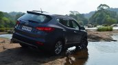 2013 Hyundai Santa Fe Review rear right quarter