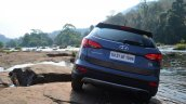 2013 Hyundai Santa Fe Review rear
