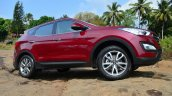 2013 Hyundai Santa Fe Review side red