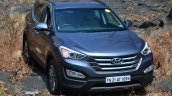 2013 Hyundai Santa Fe Review static front