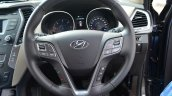 2013 Hyundai Santa Fe Review steering wheel