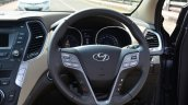 2013 Hyundai Santa Fe Review steering