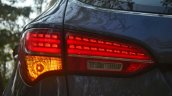 2013 Hyundai Santa Fe Review taillight LED