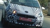 2014 Fiat Punto Facelift India spied IAB front