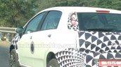 2014 Fiat Punto Facelift India spied IAB rear quarter