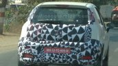 2014 Fiat Punto Facelift India spied IAB taillights