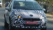 2014 Fiat Punto Facelift India spied IAB