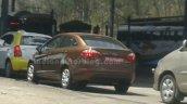 2014 Ford Fiesta facelift IAB Spied rear quarter