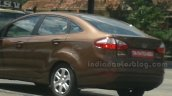 2014 Ford Fiesta facelift IAB Spied taillights