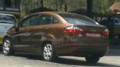 2014 Ford Fiesta facelift IAB Spied