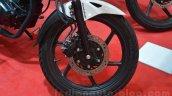 2014 Honda CB Trigger front wheel live