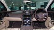 2014 Jaguar XJ dashboard at Auto Expo 2014