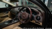 2014 Jaguar XJ dashboard driver side at Auto Expo 2014