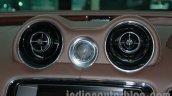 2014 Jaguar XJ front aircon vent at Auto Expo 2014