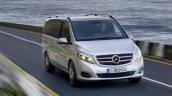 2014 Mercedes-Benz V Class press shot front fascia