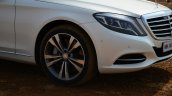 2014 Mercedes S Class review alloy wheel