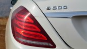 2014 Mercedes S Class review badge and light