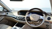2014 Mercedes S Class review dashboard view
