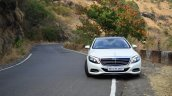 2014 Mercedes S Class review front on road