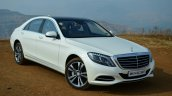 2014 Mercedes S Class review front three quarters