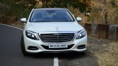 2014 Mercedes S Class review front view on road
