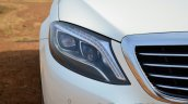 2014 Mercedes S Class review headlight