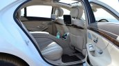 2014 Mercedes S Class review rear seat legroom