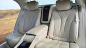 2014 Mercedes S Class review rear seats