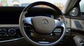 2014 Mercedes S Class review steering photo