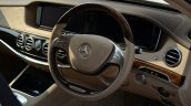 2014 Mercedes S Class review steering wheel