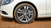 2014 Mercedes S Class review wheel