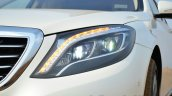 2014 Mercedes S Class review xenon headlights