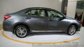 2014 Toyota Corolla side view at Auto Expo 2014