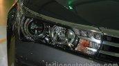 2014 Toyota Corolla headlamp fascia at Auto Expo 2014