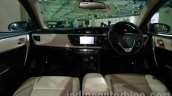 2014 Toyota Corolla dashboard at Auto Expo 2014