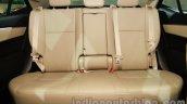 2014 Toyota Corolla rear bench at Auto Expo 2014