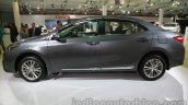 2014 Toyota Corolla side at Auto Expo 2014