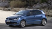 2014 VW Polo GT refreshed press shot