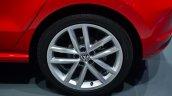 2014 VW Polo facelift alloy wheel at Geneva Motor Show 2014